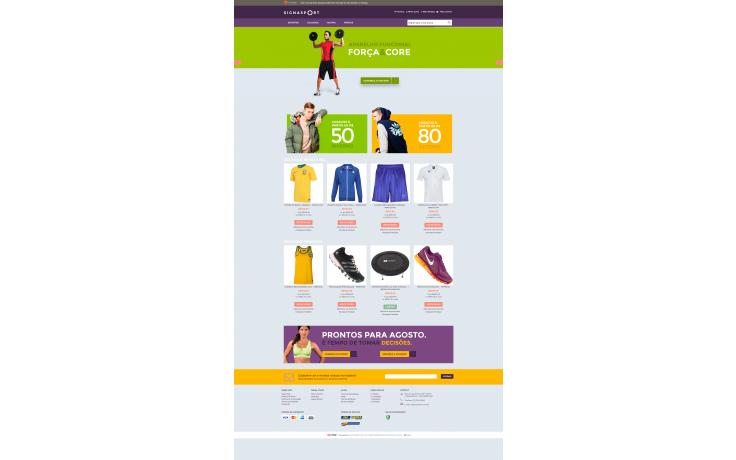 d08915521 Loja de Esportes - Modelo 2 - Temas para sua loja virtual