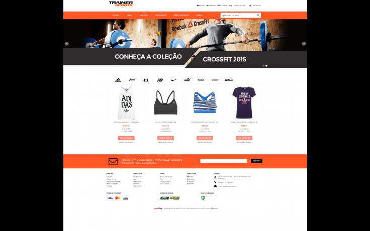c396d1fe4 Loja Esportiva - Sports   Trainer - Temas para sua loja virtual